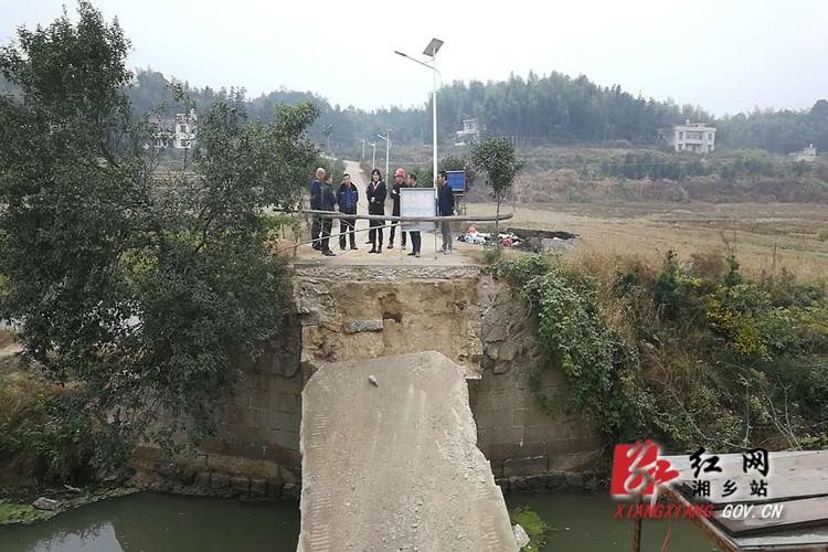 交通局:为民办实事 全力推进水毁桥梁建