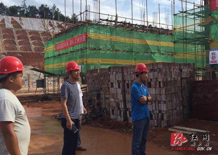 毛田镇:党建引领促项目 百日攻坚见成效