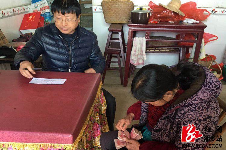 """棋梓镇:年节有""""廉味"""" 惠农保障见真章"""