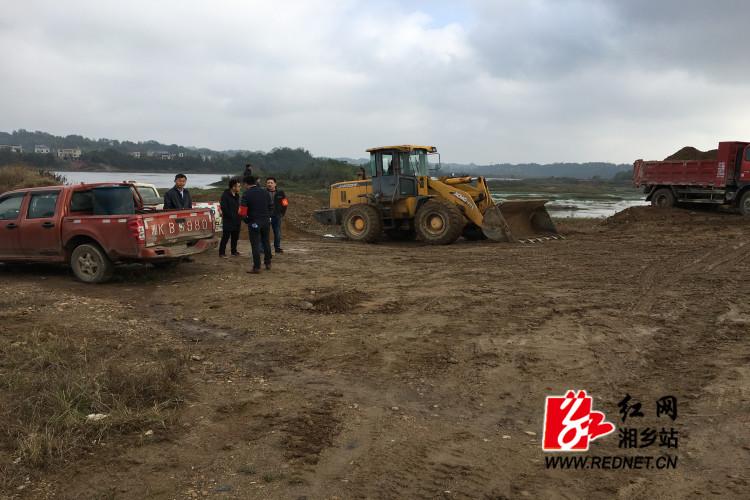 虞唐镇:开展砂场复耕复绿行动