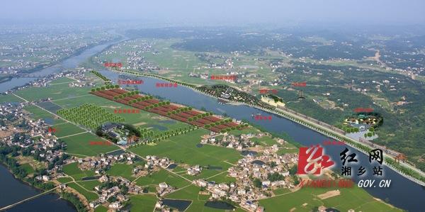 建成后的茅浒水乡包括东山岛度假区,横洲淀休闲区,桃花峡农家区