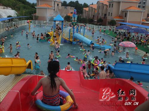 玉泉山庄水上乐园让你欢乐一夏
