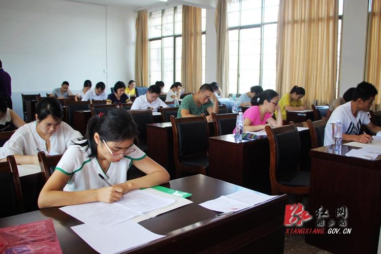 湘乡公开选调优秀教师 15名教师将上岗
