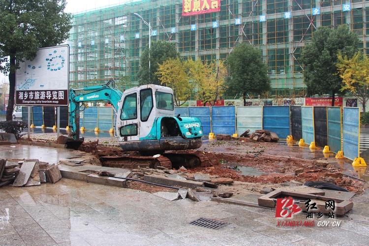 湘乡对汽车站周边安全隐患进行整改 还将增16个停车位