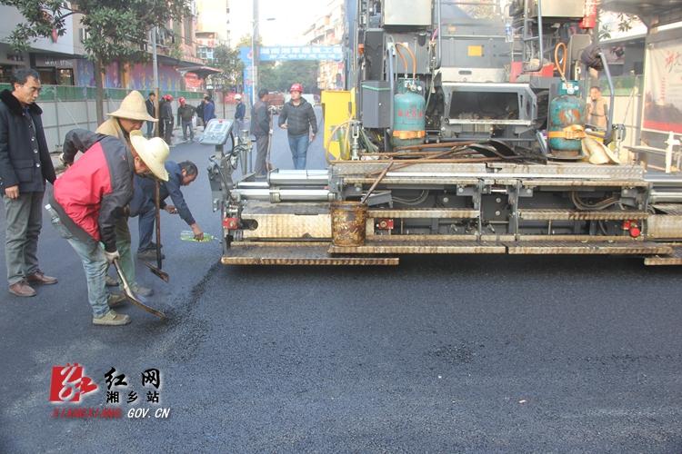 南正街大正街至吉升门路段完成铺油通车