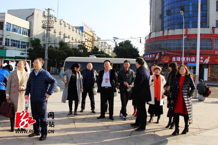 外地湘乡商会政协委员感受湘乡变化和发展