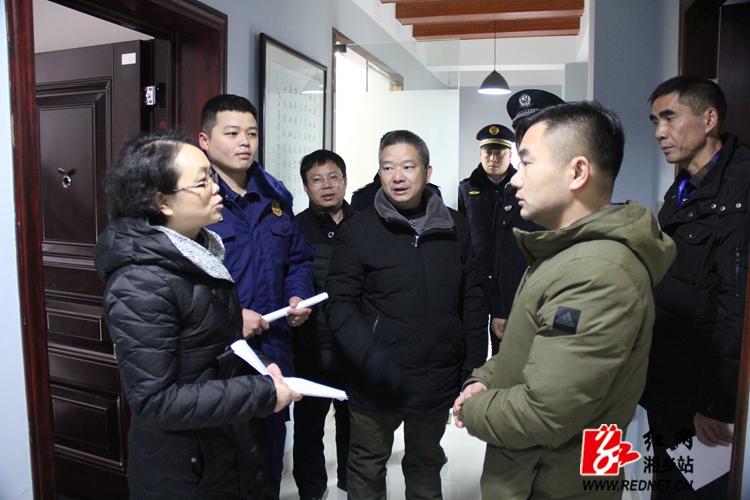 联合执法 湘乡坚决取缔非法培训机构