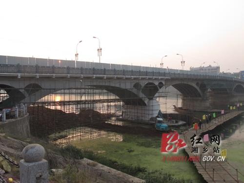 是湘乡第一座钢筋混凝土结构空腹