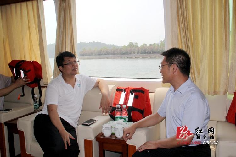 中央电视台来湘乡采访中央环保督察组交办信访件落实情况