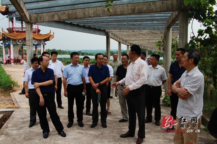 湘潭国家农业科技园区通过省级考察验收