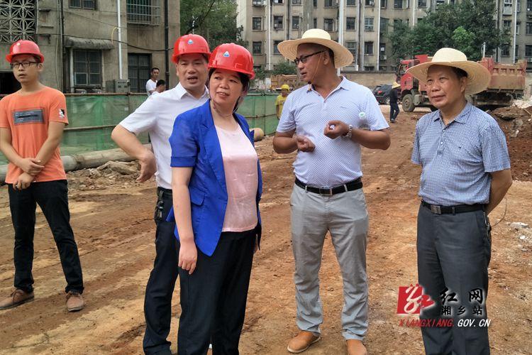 城区重点项目建设督查:打造精品工程 早日造福群众