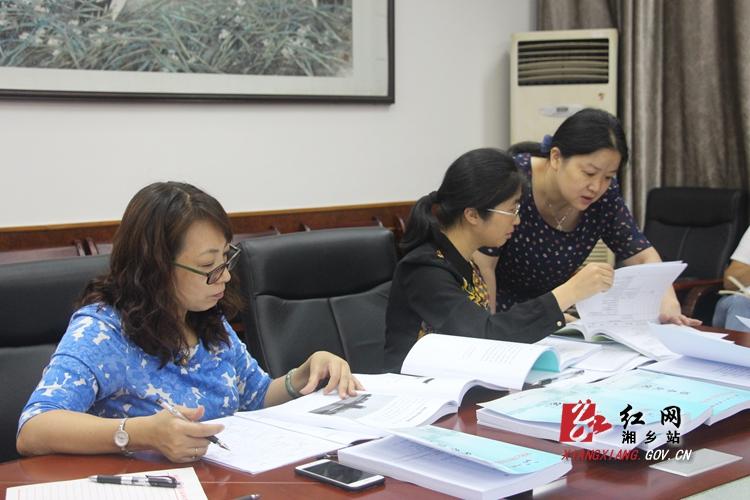 湘乡市图书馆接受第六次全国评估定级评审