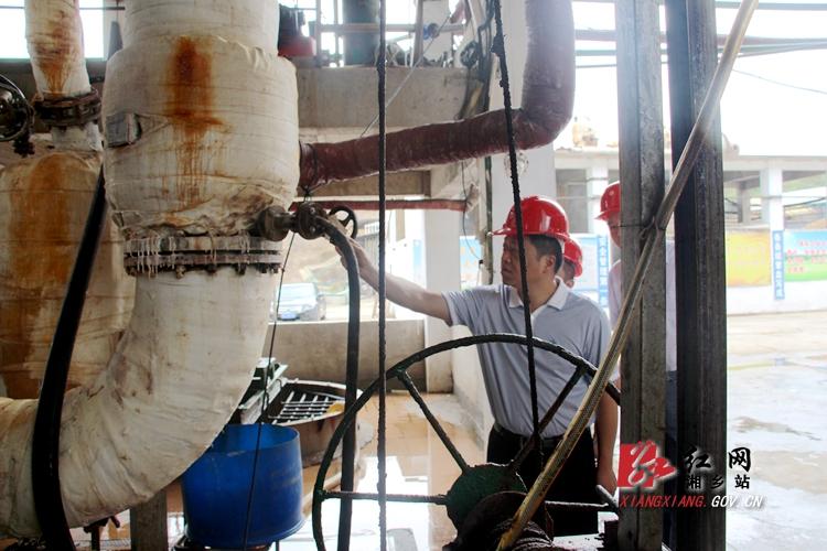 安全是最大的效益 湘乡抓好落实企业安全生产