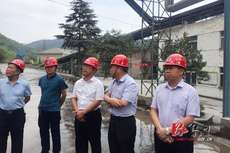 彭瑞林赴湖南韶峰南方水泥调研:当好工业强市的排头兵