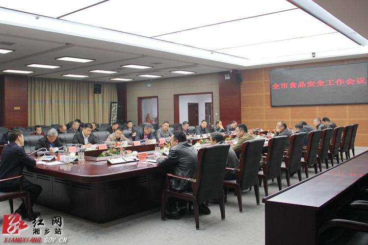 周俊文主持召开全市食品安全工作会议