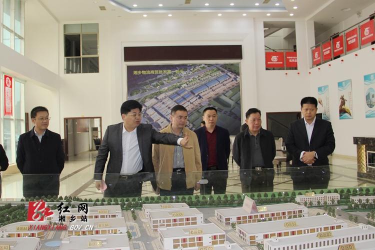 省政府督查组来湘乡督查重大项目建设