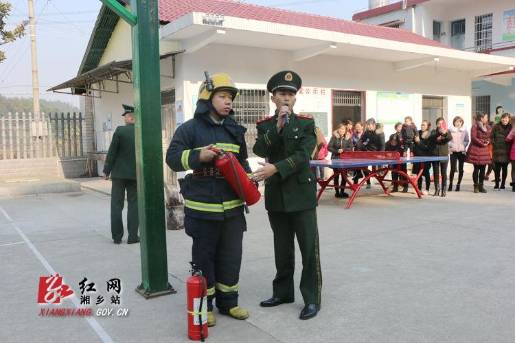 市人武部深入学校开展消防安全培训
