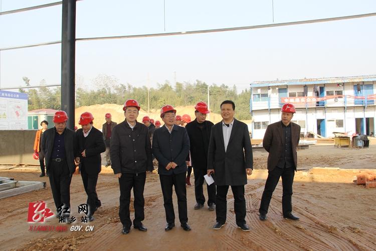 湘潭市人大代表湘乡市第四代表小组开展视察活动