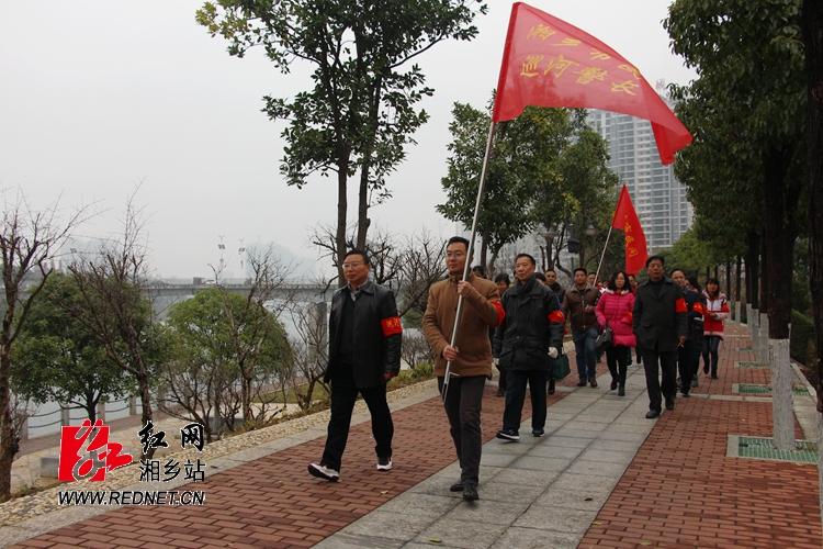 湘乡启动民间巡河警长行动 更多社会力量参与河库治理
