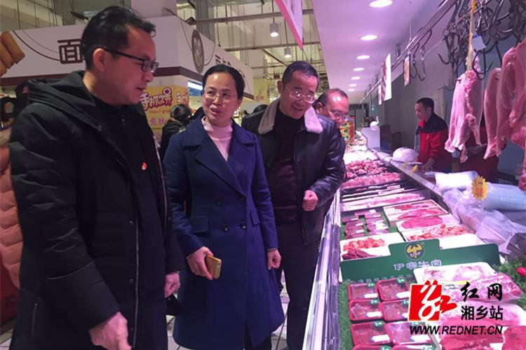 安全生产检查:湘乡食品安全总体情况良好