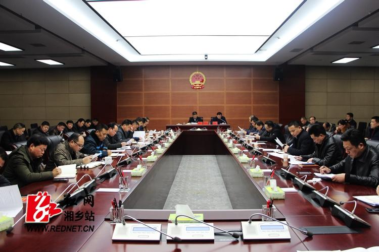 湘乡紧急调度应对低温雨雪冰冻天气