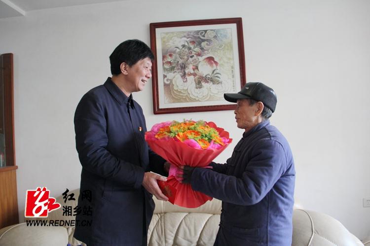 【迎春送暖】谢永根走访慰问谢欣、唐映南等老艺术家