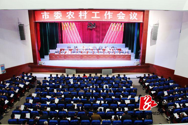 """彭瑞林:扎实推进乡村振兴战略 奋力开创湘乡""""三农""""工作新局面"""