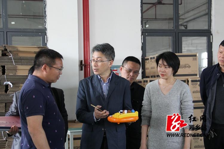 毛良才率队到湘乡督查省文化产业发展专项资金使用情况