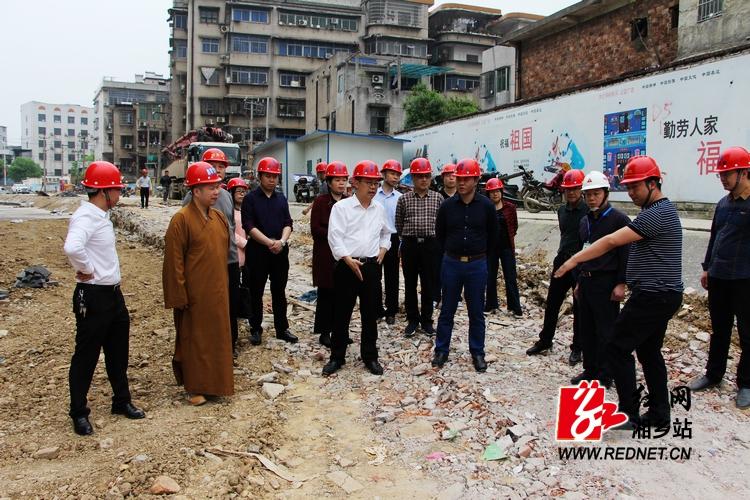 """彭瑞林:将云门广场提质改造项目打造成""""文化立市""""标杆性项目"""