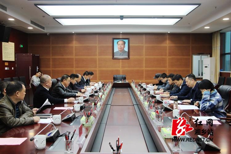 彭瑞林会见省现代农业集团总经理龚小波一行