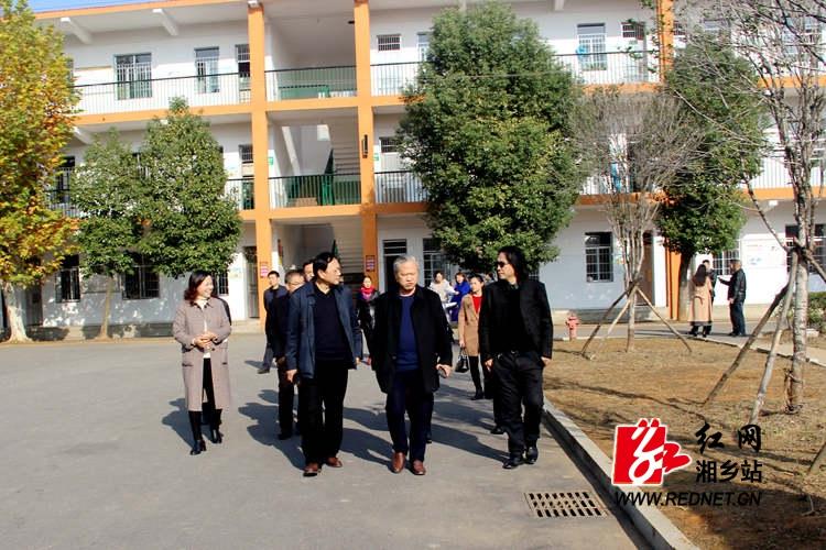 湘潭湘乡两级人大代表视察望春校区促教育发展