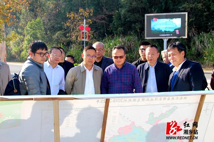 国家林业和草原局来湘乡调研水府庙国家湿地公园规划调整工作
