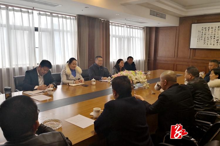 周俊文走访看望在外湘乡籍电力安装企业家 共话湘乡电力产业园发展