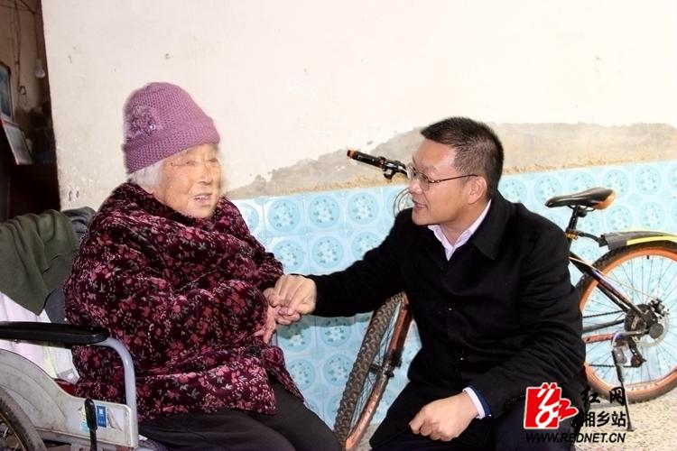 周俊文:让改革开放40年成果惠及湘乡每一个百姓