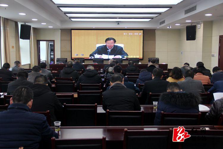 湘乡加强非洲猪瘟防控及雨雪冰冻天气应对