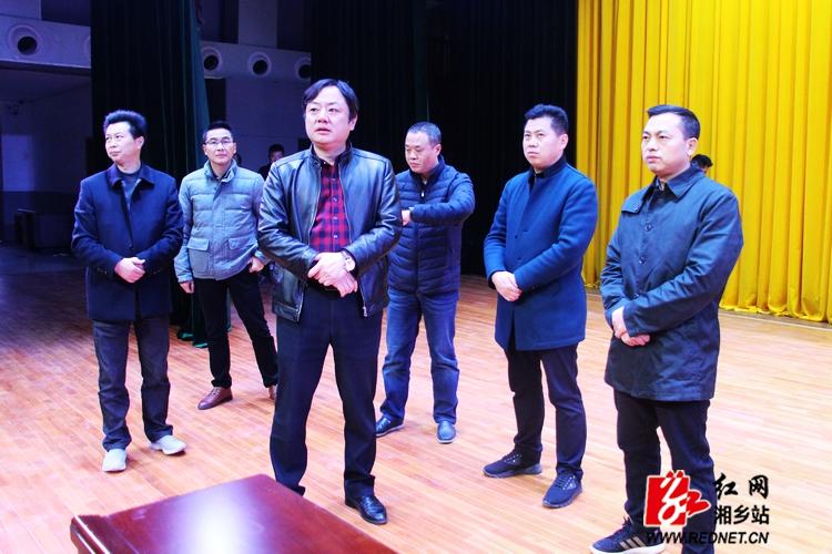 党代会将于17日召开 张茂丰检查会务筹备工作