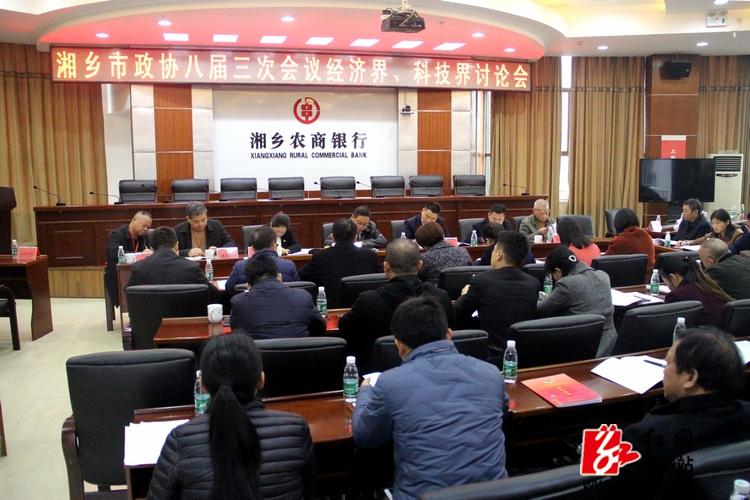 彭瑞林、彭初阳参加经济界、科技界联合活动组讨论