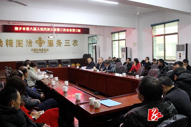 周俊文参加第三代表团审议人大、法院、检察院工作报告