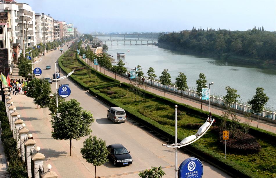 湘乡市城市规划图