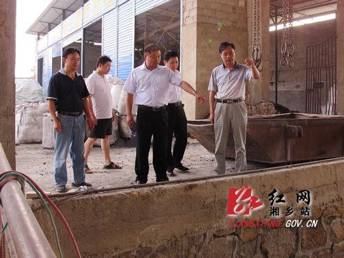 胡海军走访乡镇企业 -中国湘乡 - 湘乡市委市政府门户网